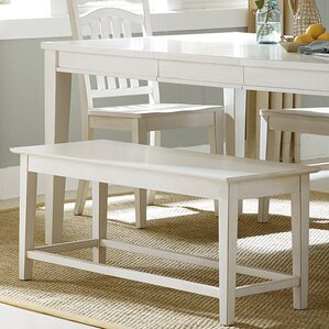 Silver Springs Bench by Beachcrest Home