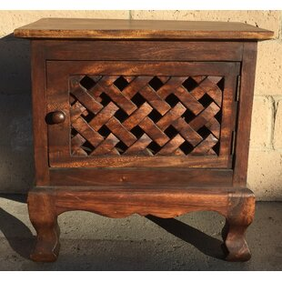 Hervey Bay Lattice 1 Door Accent Cabinet by World Menagerie