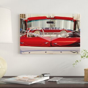 '1953 Oldsmobile 98' Graphic Art Print on Canvas By East Urban Home