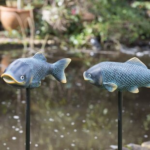 Marbleton 2 Piece Resin Fish Set By Sol 72 Outdoor