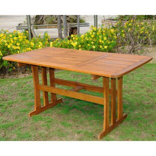 Panorama Point Solid Wood Dining Table by..