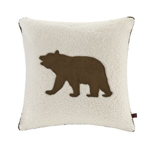 Bear Berber Polyester Throw Pillow