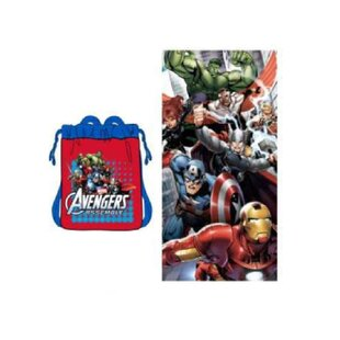 Marvel Avengers 2 Piece 100% Cotton Beach Towel Set (Set of 2)