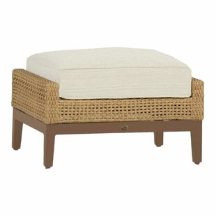 Summer Classics Peninsula Ottoman with Cushion