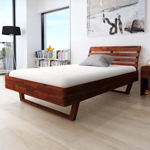 Hofer Heavy Duty Bed Frame by Millwood Pines