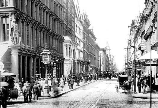 Buyenlarge A Philadelphia Street Scene 1 Photograph Print Wayfair