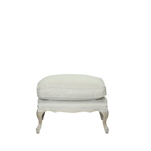 Dorothy Leather Ottoman by One Allium Way