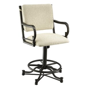 Compare prices Durrah 26 Swivel Bar Stool by Darby Home Co Reviews (2019) & Buyer's Guide