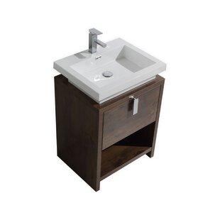 Quickview 1 Orren Ellis Nelle 24 Single Bathroom Vanity Set