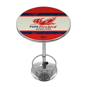 Pure Oil Vintage Pub Table by Trademark G..