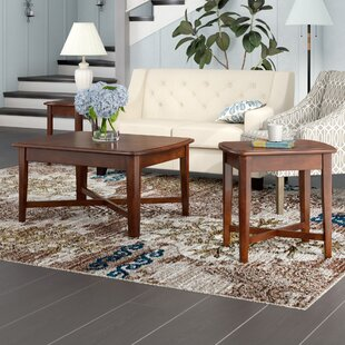 Hungerford 3 Piece Coffee Table Set by Red Barrel Studio