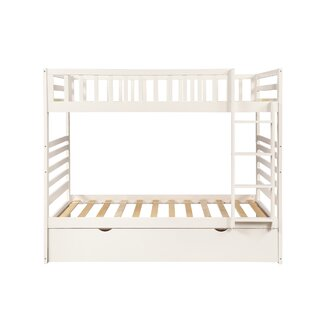 Ackeron Twin over Twin Bunk Bed with Trundle