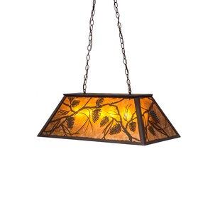 Meyda Tiffany Greenbriar Oak 6-Light Pendant