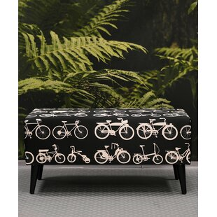 Upholstered Bench By Bikes Bazaar