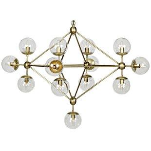 Best Price Pluto 13-Light  LED  Chandelier By Noir