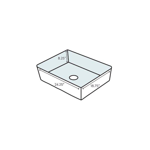 KOHLER K-6585-0 Iron//Tones Self-Rimming Undercounter Kitchen Sink White