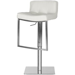 Raguel Adjustable Height Swivel Bar Stool..