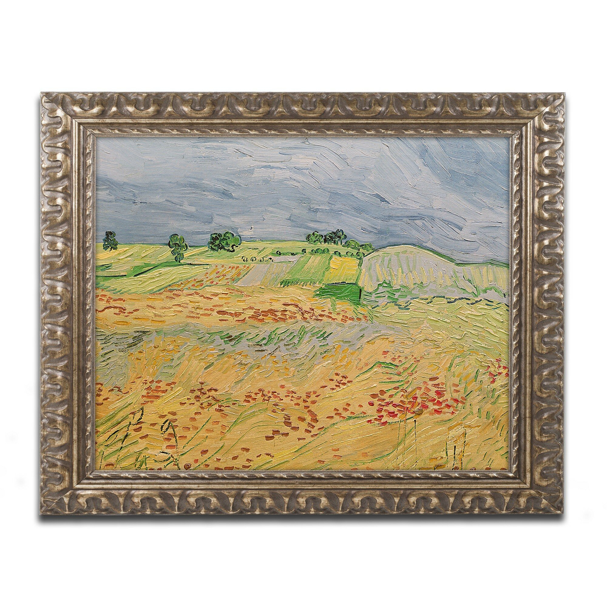 The Sower In Field Vincent Van Gogh Painting 8x10 Real Canvas Giclee Art Print