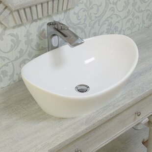 Find the perfect Luna™ Oval Vessel Bathroom Sink By Aquatica