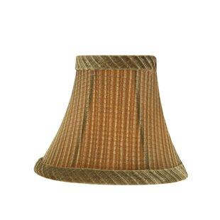 6 Fabric Bell Candelabra Shade (Set of 2)