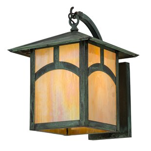 Loon Peak Wygant Outdoor Wall Lantern