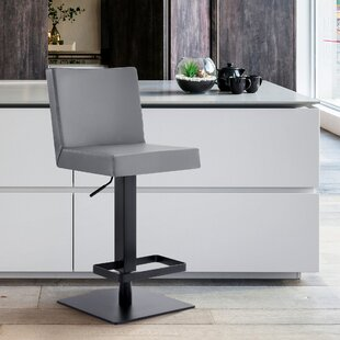 Legacy Swivel Adjustable Height Bar Stool by Armen Living