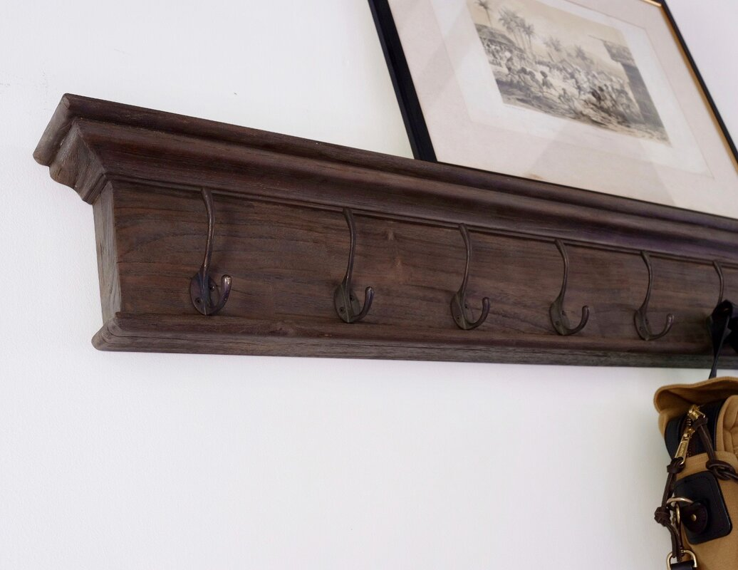 coat at hook rack mounted white pd shop prepac furniture wall com lowes