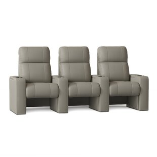 Home Theater Sofa Row of 3 by Latitude Run