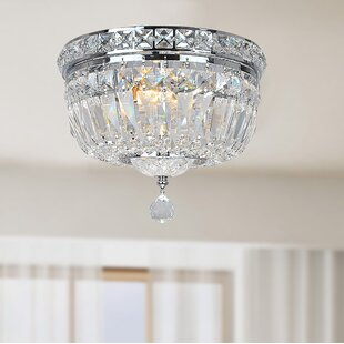 House of Hampton Mckinnon 2-Light Flush Mount