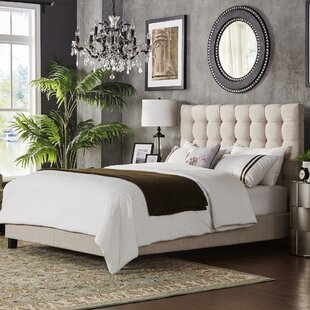 Mercury Row Bourdon Upholstered Panel Bed