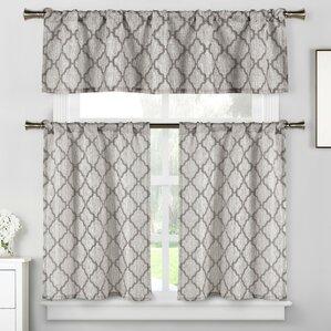 Kitchen Curtains You\'ll Love | Wayfair