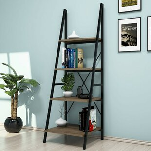 Lynwood Ladder Bookcase By Ebern Designs