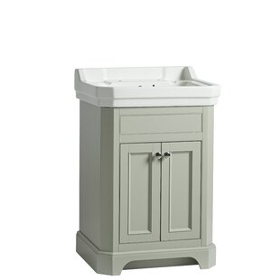 Melina 61cm Free-Standing Vanity Unit Base By August Grove