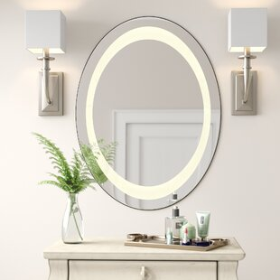 Comparison Maison LED Bathroom/Vanity Mirror By Wade Logan