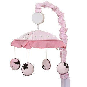 New Butterfly Baby Nursery Musical Mobile