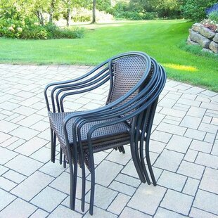 Tuscany Stacking Patio Dining Chair (Set of 4)