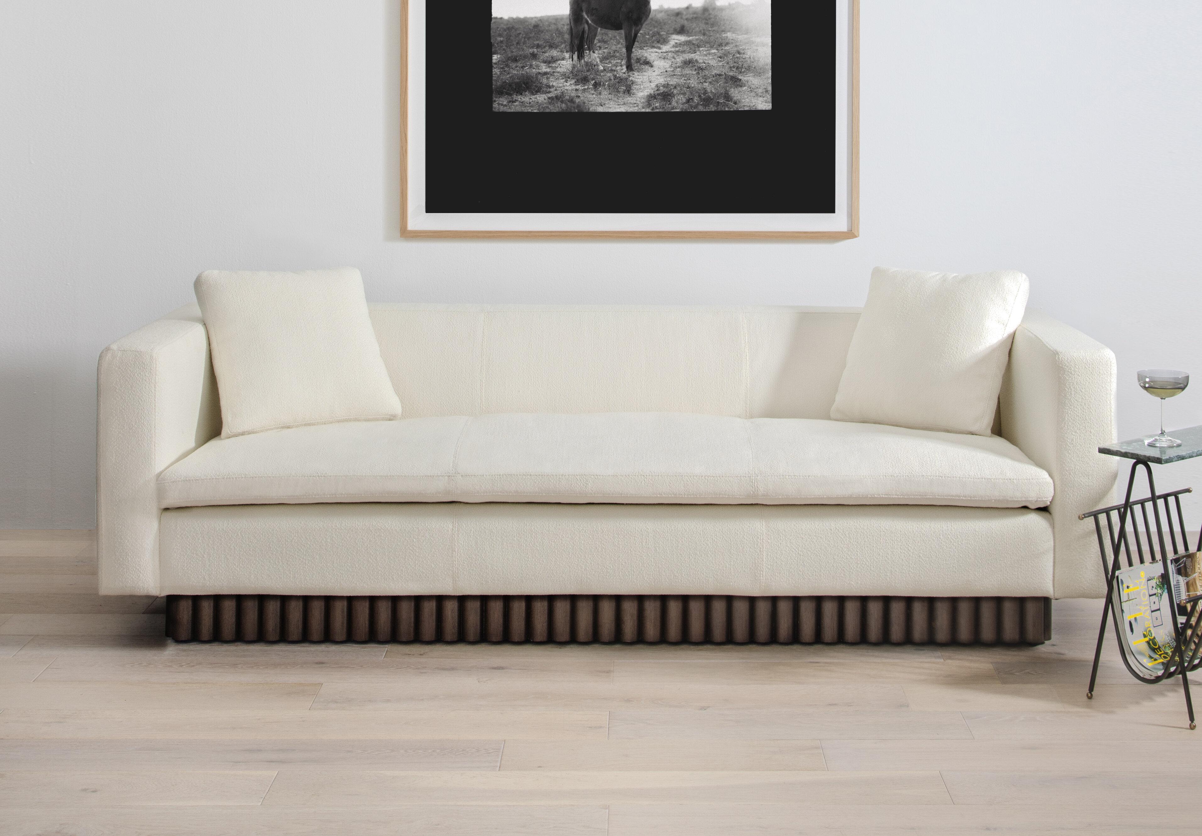 Modern White Sofas Allmodern