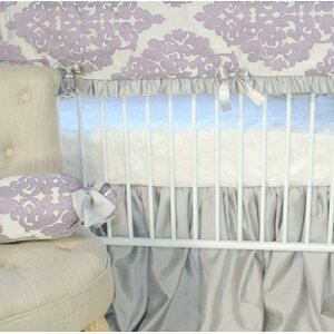 Orchid Petal Fitted Crib Sheet