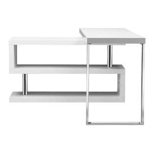 Gorontalo L-Shape Writing Desk by Wade Logan Office Furniture