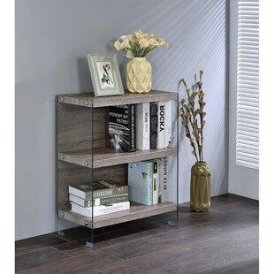 Fleck Bookcase Standing Desk by Orren Ellis