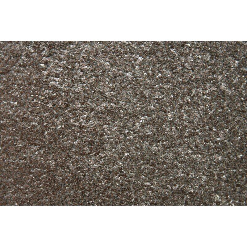 "17 Stories Gerald Mica 24 L x 36"" W Wallpaper Roll  Color: Metallic Bronze"