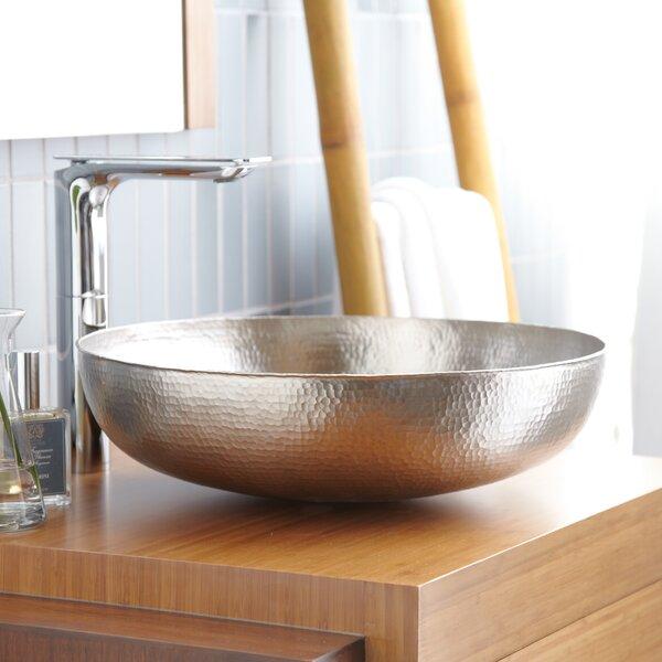 Native Trails Maestro Metal Circular Vessel Bathroom Sink Wayfair