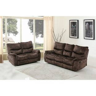 Exchange Reclining 2 Piece Living Room Set (Set of 2) by Red Barrel Studio