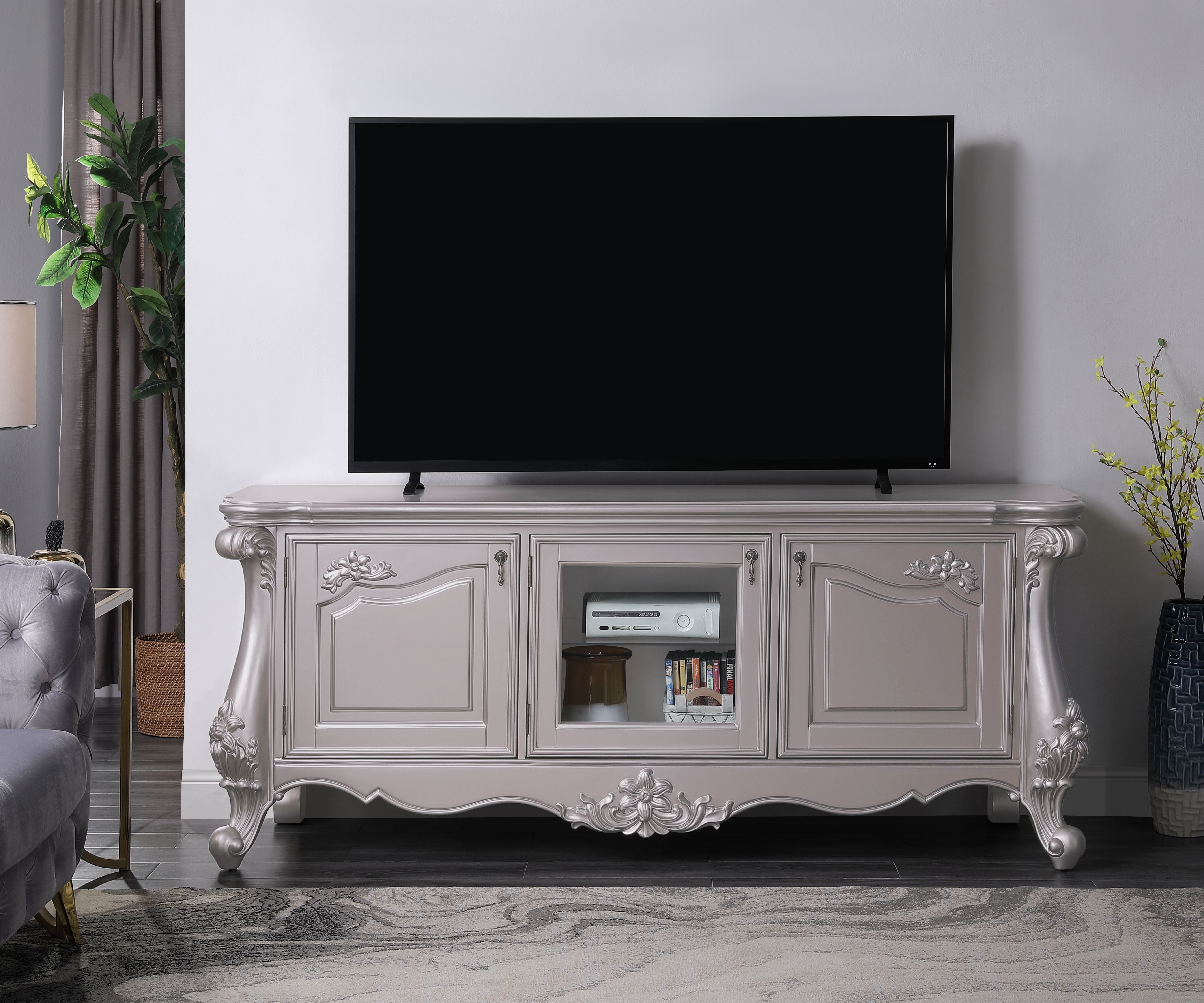 Foobrues Tv Stand For Tvs Up To 85 Wayfair
