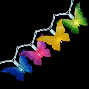 Bargain Butterfly 10-Light Novelty String Light By Sienna