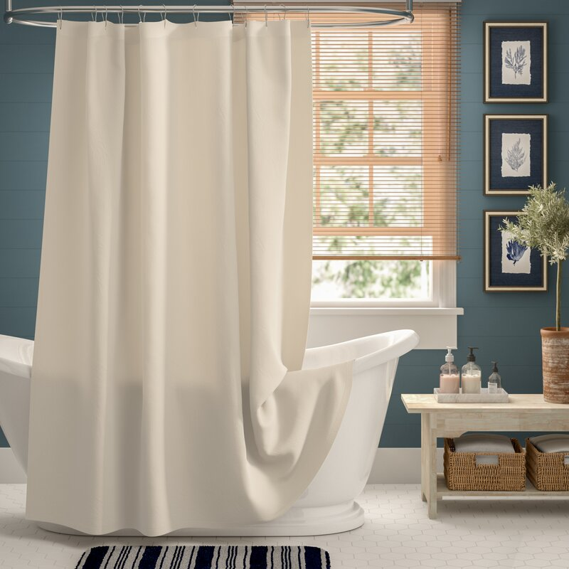 Bernadette Linen Single Shower Curtain