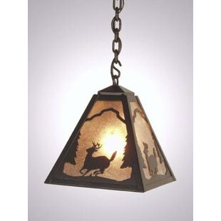 Deer Vegas 1-Light Outdoor Pendant