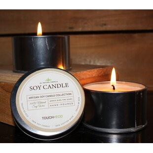Natural Soy Candle Spice Scent Set (Set of 2)