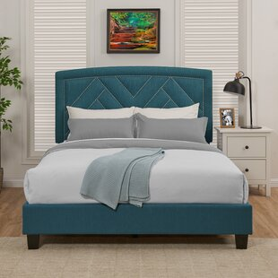 Juri Queen Upholstered Panel Bed by Mercer41