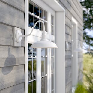 Belleair Bluffs 1-Light Outdoor Barn Light By Beachcrest Home Outdoor Lighting